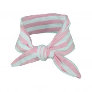 Light Pink & White Stripey Baby/Toddler Hair Wrap
