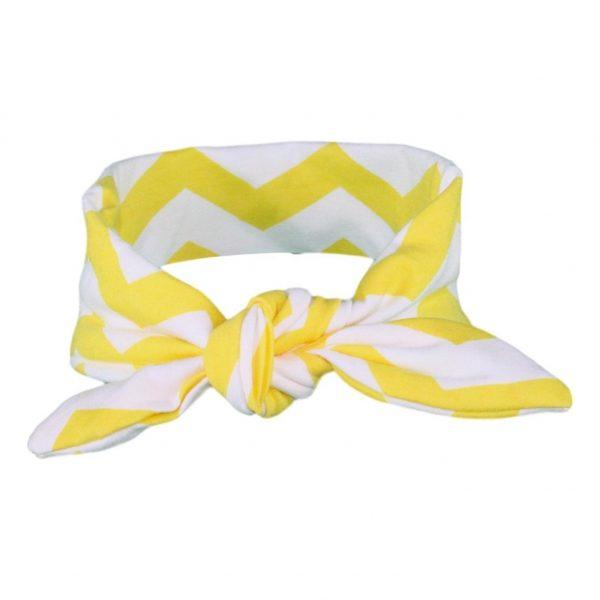 Yellow & White Chevvy