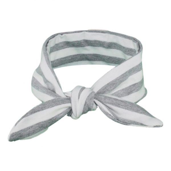 Grey & White Stripey