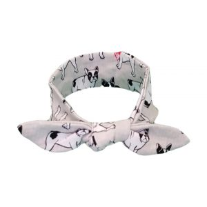 Snazzy French Bull Dog Baby/Toddler Hair Wrap