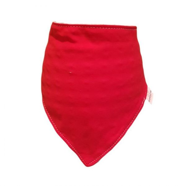 Plain Red Bib