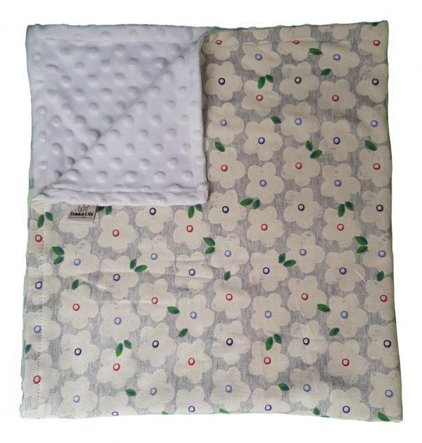 Winter Flowers Blanket