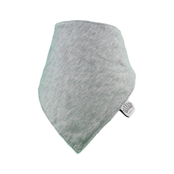 Plain Grey Bib