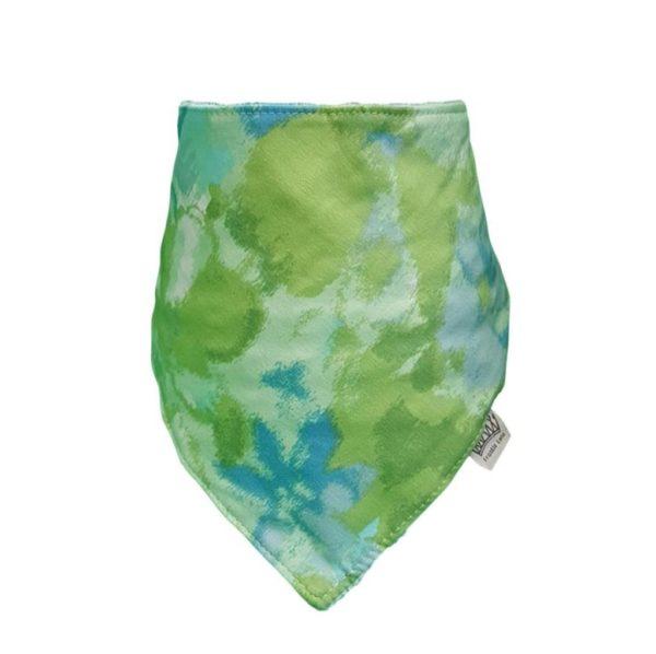Green Floral Bib