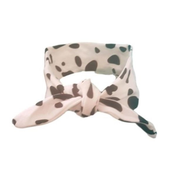 Dalmation Frankie Lola hair wrap for baby/toddler