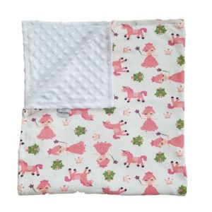 the unicorn baby blanket