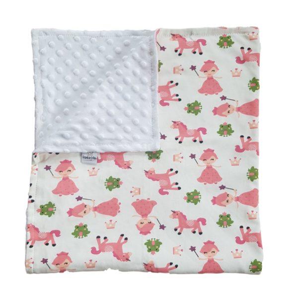 the unicorn baby blanket